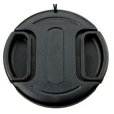 82mm Snap On/Clip on Lens Cap Protection Cover with Keeper for Canon Nikon
