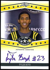 """TYLER BOYD 2013 LEAF ARMY TOUR """"1ST EVER PRINTED"""" AUTOGRAPHED ROOKIE CARD!"""