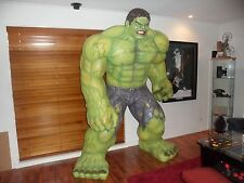 LIFE SIZE HULK  /  STATUE, FIGURE. ACTION  HERO (DISCOUNTED SPECIAL FREE DELIVER