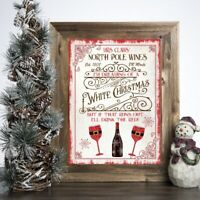 RED OCEAN Soup Of The Day Prosecco Novelty Wooden Hanging Plaque Alcohol Joke Gift Sign