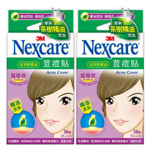 [3M NEXCARE] Ultra Thin Acne Dressing Pimple Patch Stickers TEA TREE OIL 72pcs