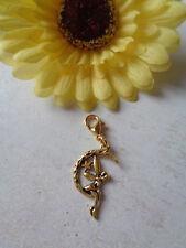 """Taschen-oder Schlüsselanhänger """"Elfe/Mond"""" antik gold"""