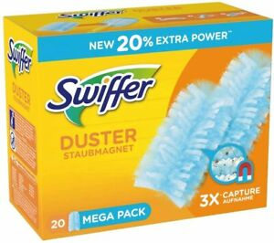 Swiffer Fluffy Dusters: 20 Dust Magnet Refills  - Pledge compatible