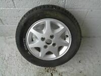 "Ford Alloy Wheel Sierra Escort 14"" 5.5Jx14HE41 with Tyre 195/60R14 Michelin"