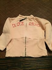 Designer Diesel Zip Up Jumper cardigan style Top Baby Girl Aged 18months