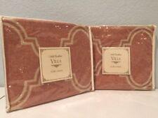 2 Noble Excellence Villa Hermosa European Euro Pillow Shams Pair Southwestern
