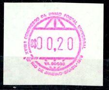 """BRAZIL, RARITY 1979 """"FRAMA STAMP"""" C$00.20, MINT NEVER HINGED **!"""