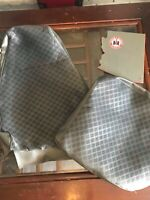 International Scout 2 plaid high buckets full upholstery set Silver grey IH