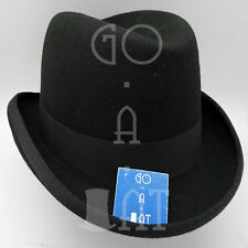 55470698c6029 VINTAGE Wool Felt Men Homburg Top Hat Gentlemen Formal Topper