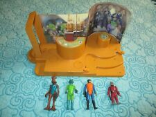 VINTAGE STAR WARS CREATURE CANTINA with 4 COMPLETE CREATURES 100% ORIGINAL