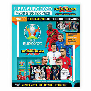 Panini Euro 2020 Kick-Off Adrenalyn XL Trading Card Collection Starter Pack