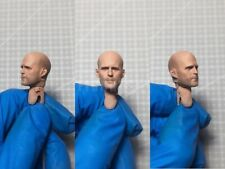 "Painted Service 1/12 Jason Statham Expendables Fast Head Sculpt fit 6"" Figure ML"