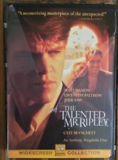 The Talented Mr. Ripley   Dvd   Good condition