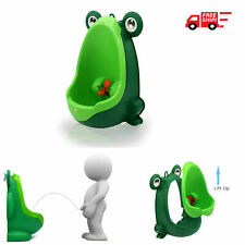 New listing Green Cute Frog Potty Training Urinal For Boys Kids With Funny Aiming Target New