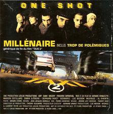 One Shot – Millénaire - CD SINGLE  CARDSLEEVE 2 TITRES 2000