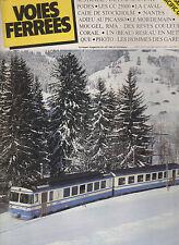 VOIES FERREES N°0 8 CC 25000 / AUSTRALIE VAPEUR / CORAIL /  LE M.O.B / TGV /