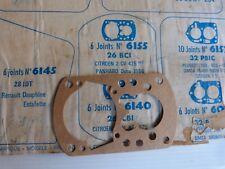 joint carburateur MEILLOR n° 6155 pour SOLEX 26 BCI / panhard ; citroen 2 - NEUF