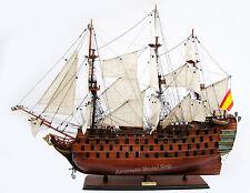 "SANTA ANA Tall Ship 36"" - Handmade Built Wooden Model Boat New"