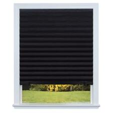 Redi Shade Paper Window Blinds Black Out Pleated 36 x 72 in Inch Durable NEW