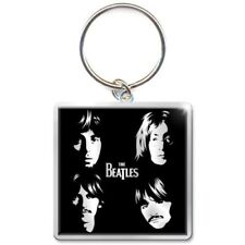 BEATLES Keychain Portachiavi Faces OFFICIAL MERCHANDISE