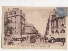 Bordeaux Le Cours de l'Intendance [LL 160] France 1930 Postcard 882a