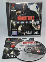 Resident Evil 3: Nemesis Video Game for Sony PlayStation PS1 PAL TESTED