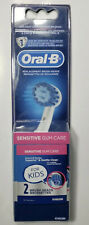 Oral-B Replacement Brush Heads for Kids, Sensitive Gum Care - 2 Brush Heads NEW!