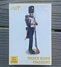 HAT INDUSTRIES 1/72 NAPOLEONIC WARS FRENCH GUARD CHASSEURS 48 FIGURES # 8170 NIB