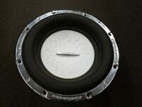 """VTG Old School Audiobahn AW1208T 12"""" Dual 2 Ohm T  Flame Subwoofer Rare"""