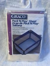 Graco Pack 'n Play Sheet Cream  Cotton Blend with Fitted Pockets