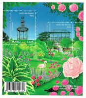 Bloc Feuillet 2009 N°F4384 Timbres - Jardins de France Salon du Timbre 2010
