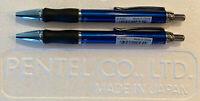 New 2 Pentel Client 0.5mm Retractable Tip Mechanical Pencils - Pencil Pair