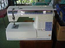 Husqvarna Viking #1+ Embroidery Sewing Machine With Large Book