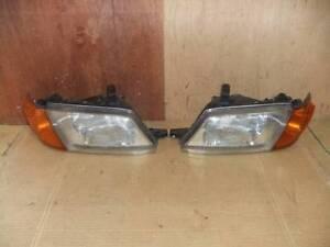 JDM Nissan Wingroad Advan Ad Van Y11 Headlights Corner Lights Lamps Set OEM