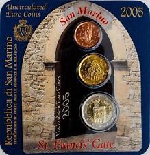 REPUBBLICA DI SAN MARINO KIT SERIE 2 euro - 20 cent - 2 cent 2005