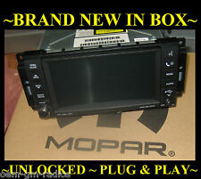 NEW 07-10 CHRYSLER JEEP DODGE RAM Dakota MYGIG Radio CD DVD AUX MP3 Low Speed