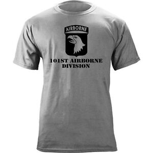 US Army 101st Airborne Division Veteran Subdued T-Shirt