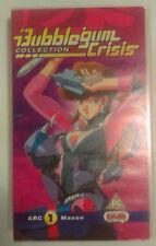 Bubblegum Crisis Anime VHS 1987 Collection Series Arc1 Mason Original Rare