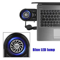 Vacuum Air Extracting USB Cooling Pad Cooler Fan Radiator For Notebook Laptop PC