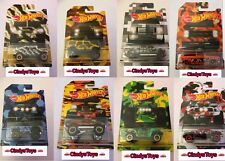 Hot Wheels Walmart Exclusive 2017 Camouflage Camo Series 8 Truck Set
