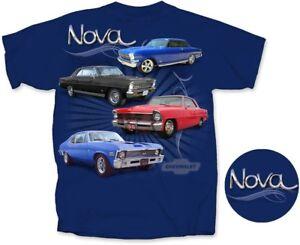 Chevrolet Chevy II Nova T-shirts - 100% Cotton Pre-shrunk