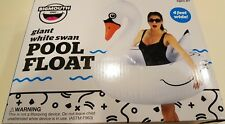 Big Mouth Inc Giant White Swan Pool Float Brand New in Box