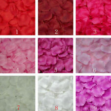Wedding 500/1000PCS Flowers Silk Rose Petals Party Table Confetti Decoration