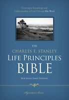 The Charles Stanley Life Principles Bible Nkjv   by Dr Stanley