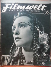 FILMWELT 50 - 12.12. 1937 Zarah Leander Heinz Rühmann Magda Schneider H. Nielsen