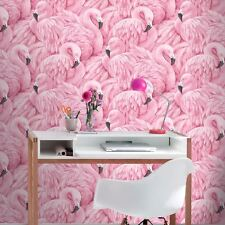 Rasch 277890 Flamingo Pink Wallpaper