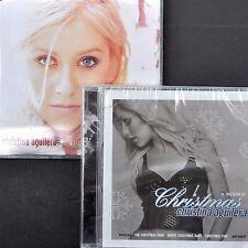 Christina Aguilera Christmas 2 CD Lot Xmas Song Thunderpuss Remix My Kind New