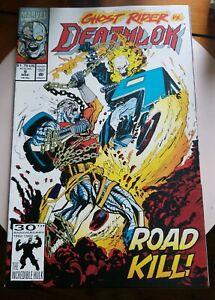 Deathlok #9 (1992) Marvel Comics / Ghost Rider