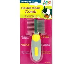 DOUBLE SIDED COMB - (small animal) - Ancol Just 4 Pets bp Hair Coat Matt Brush