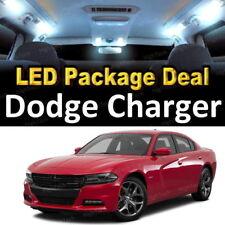 For 2015 - 2017 2018 Dodge Charger LED Lights Interior Package Kit WHITE 15PCS